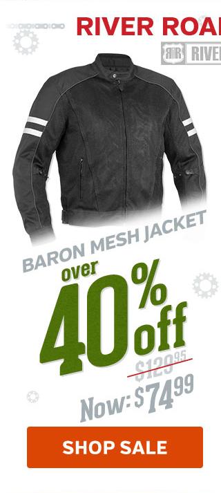 Over 40% Off Baron Mesh Jacket