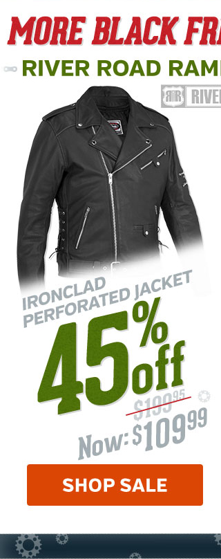 45% Off Ironclad Perforated Jacket