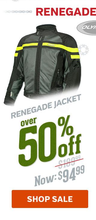 Over 50% Off Renegade Jacket