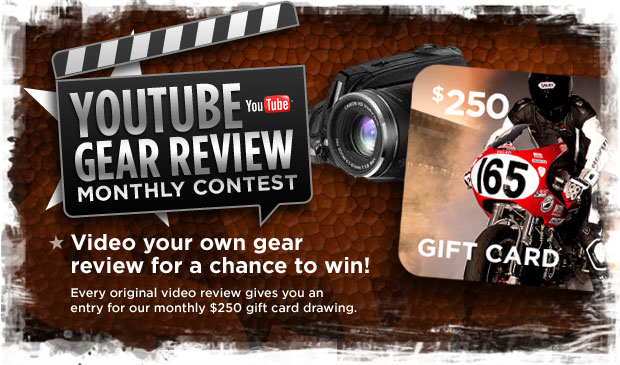 YouTube Gear Review Monthly Contest
