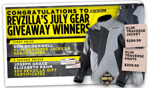 July Gear Giveaway