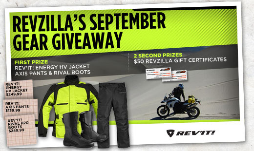 September Gear Giveaway Winners