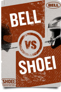 Bell Helmets VS Shoei Helmets