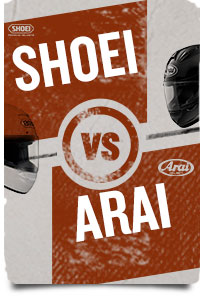 Shoei Helmets VS Arai Helmets