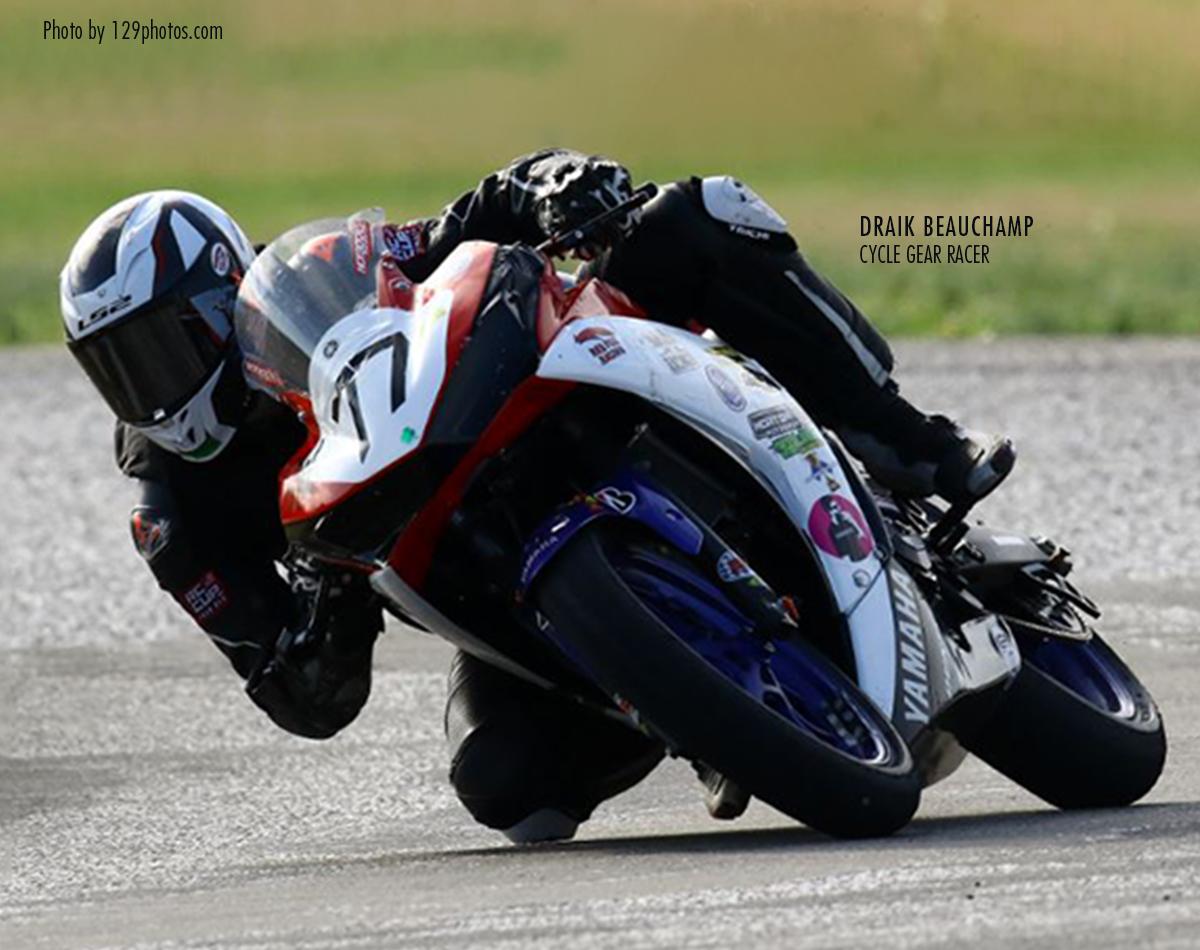 David Beauchamp Cycle Gear Racer