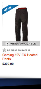 Gerbing 12V EX Heated Pants