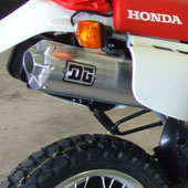 Honda XR650L modifications