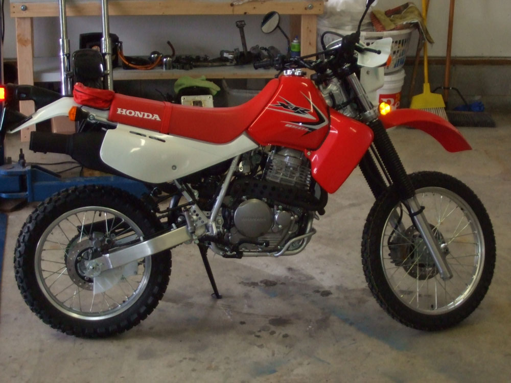 Honda xr650l modification