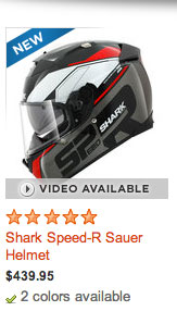 Shark Speed-R Sauer Helmet