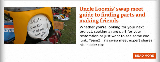 Uncle Loomis' swap meet survival guide
