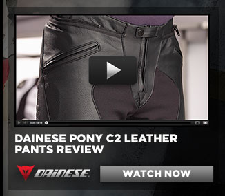 Dainese Pony Leather Pants Review