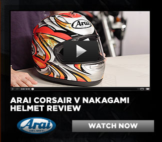 Arai Corsair V Nakagami Helmet Review