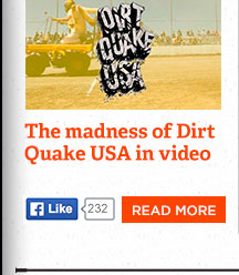 All the madness of Dirt Quake USA captured in video