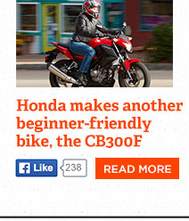 Honda CB300F: good news for new riders, frugal riders, lovers of nimble bikes