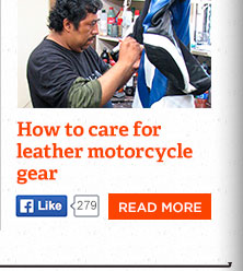 How to care for your leather motorcycle gear and make it last
