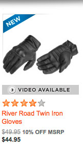 River Road Twin Iron Gloves
