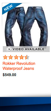 Rokker Revolution Waterproof Jeans