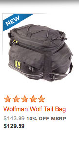 Wolfman Wolf Tail Bag