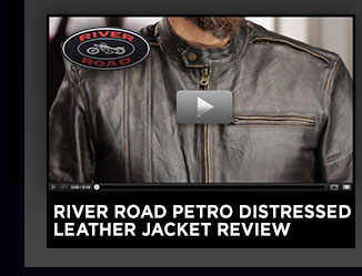 River Road Petro Distressed Leather Jacket Review