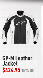 Alpinestars GP-M Leather Jacket