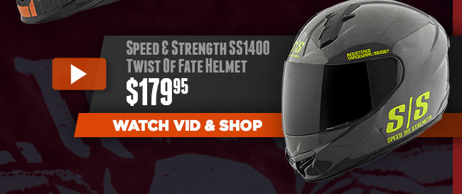 Speed and Strength SS1400 Twist Of Fate Helmet