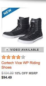 Cortech Vice WP Riding Shoes