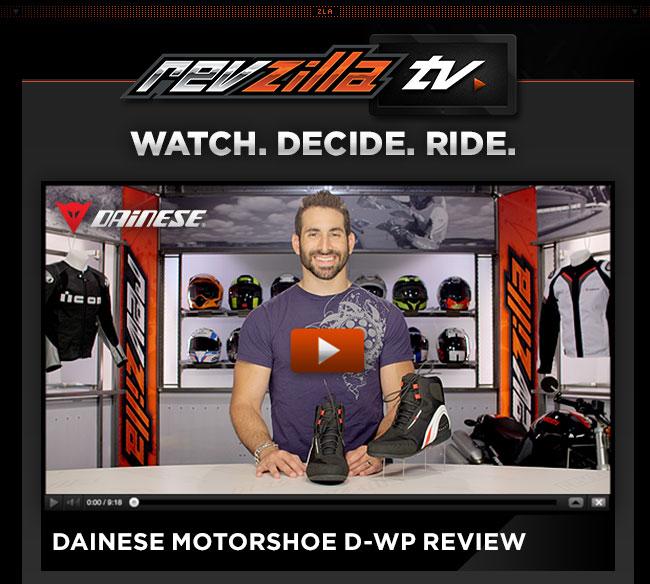 Dainese Motorshoe D-WP Review