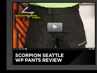 Scorpion Seattle WP Pants Review