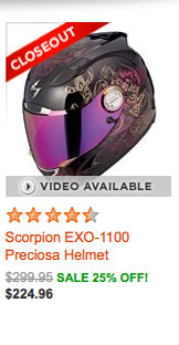 Scorpion EXO-1100 Preciosa Helmet