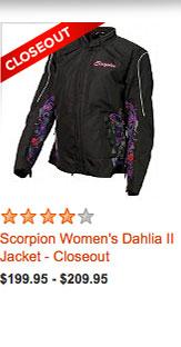 Scorpion Women's Dahlia II Jacket - Closeout