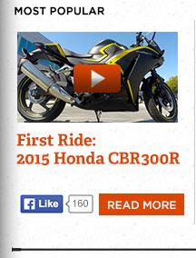 Honda CBR300R: First ride on Honda's latest mini-sport