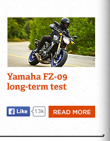 Living with the Yamaha FZ-09, a great bike with a few nasty tendencies