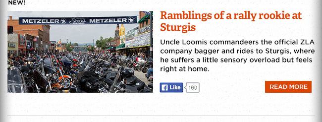 Ramblings of a rally rookie at Sturgis