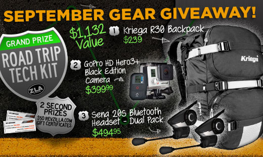 September Gear Giveaway