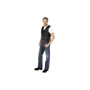 River Road 4 Pocket Leather Vest