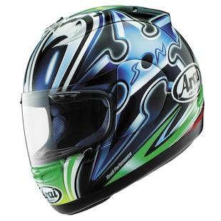 Arai RX7 Corsair Nakano Shuriken Helmet - Green