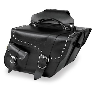 Willie & Max Ranger Studded Slant Saddlebags