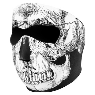 Zan's Skull Neoprene Full Face Mask