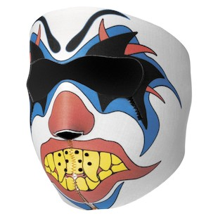 Zan's Clown Neoprene Face Mask