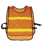 Orange Reflector Safety Vest