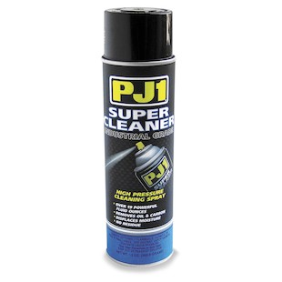 PJ1 Super Cleaner Features: Cleans, degreases and removes moisture from all electrical connections, plugs and carburetors Harmless to most plastics and paint Fast drying, leaves no residue