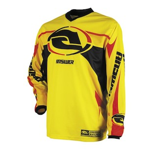 Answer Syncron Jersey (Color: Yellow / Size: LG)