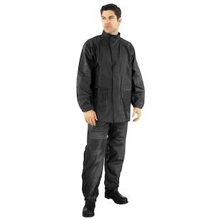 River Road Rainstorm 2-Piece Black Rain Suit