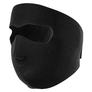 Zan's Black Neoprene Face Mask