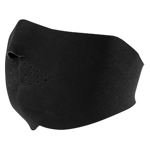 Zan's Half Face Neoprene Black Mask