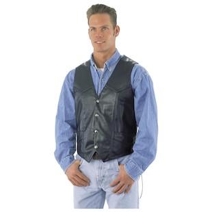 River Road Basic Leather Vest