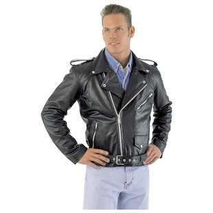 River Road Basic Leather Jacket