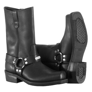 River Road Traditional Square Toe Harness Boots - Closeout
