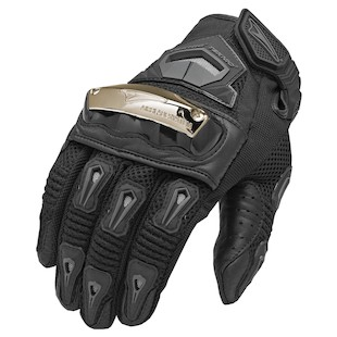 Teknic Supervent Pro Gloves Black detail
