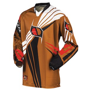 MSR Nxt Jersey (Color: Brown / Size: SM)